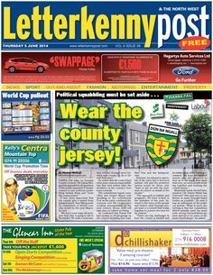 Letterkenny Post  Magazine - Buy, Subscribe, Download and Read Letterkenny Post on your iPad, iPhone, iPod Touch, Android and on the web only through Magzter