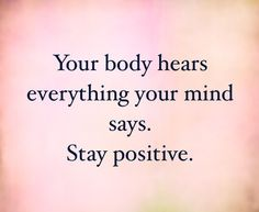 Positivity goes a long way. #quote #positive #positivity #body #mind #spirit #wellness #motivation #inspiration