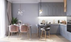 GRAY & PINK PROJECT on KIMIKO HOME