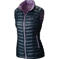 0209ff2605 Mountain Hardwear Ghost Whisperer Down Vest - Women s Zinc Phantom Purple  Ghost Whisperer
