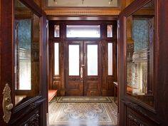 Front entrance, Green St, Bergdoll Mansion, Philadelphia