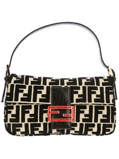 FENDI Baguette Logo Bag