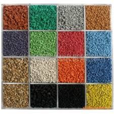 Colored EPDM rubber granule  can be found in our website here. http://www.zp-rubber.com/