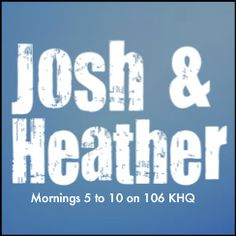 An awkward announcement from Josh this morning; also round 2 of KHQ's $1,000 Throwback Thursday qualifying, a message about a boss dating an employee's friend and Josh & Heather try to come up with male stripper names...