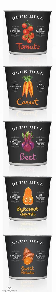 Blue Hill Yogurt  #packaging #yogurt #beautifulfood PD