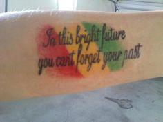 bob marley quote tattoos | bob marley quotes – short bob marley quotes tattoo [500x375 ...