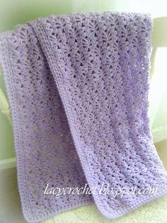 Free Baby Blanket Patterns ༺✿Teresa Restegui http://www.pinterest.com/teretegui/✿༻