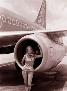 It's Flashback Friday! Check out the start of Southwest's long tradition of serving Houston Hobby #FreeHobby - Click image to find more hot Pinterest pins