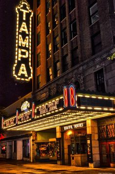 For a day in Tampa Bay, see a show at the historic Tampa Theatre, unwind at Spa Evangaline and more!