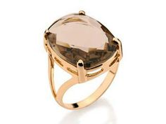 Anillo Lannel bañado en oro / Gold plated Lannel ring