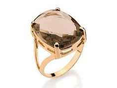 Anillo Lannel bañado en oro / Gold plated Lannel ring