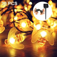 Die etwas andere Lichterkette  Beleuchtung, Lichterketten, Außen & Innen Led, Light Bulb, Lighting, Dates, Home Decor, Ideas, Christmas Tree, Balcony, Fairy Lights