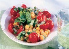 Insalata di ceci con salsa alle erbe - Tutte le ricette dalla A alla Z - Cucina Naturale - Ricette, Menu, Diete