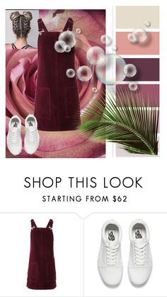 """""""Untitled #397"""" by isabellefashion23 ❤ liked on Polyvore featuring Topshop and Vans"""