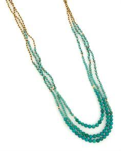 Nakamol Beaded Multilayer Necklace $78