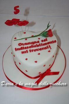 #Torta cuore #Heart cake