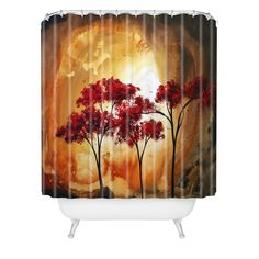 Empty Nest 2 Shower Curtain Madart Inc