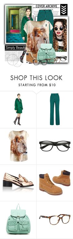 And it's too by magyar-fruzsina on Polyvore featuring Valentino, Bottega Veneta, Timberland, STELLA McCARTNEY, T-shirt & Jeans, Spitfire and Linda Farrow