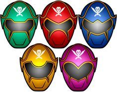 not sure if they're ok or not but heres the completed versions of the masks Power Rangers Super MegaForce Masks Power Rangers Logo, Power Rangers Helmet, Power Rangers Samurai, Go Go Power Rangers, Power Ranger Cake, Power Ranger Party, Tortas Power Rangers, Power Rangers Birthday Cake, Powe Rangers