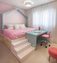hochbett teenager madchen schlafzimmer schlafzimmer ideen coole betten kleine zimmer einrichten