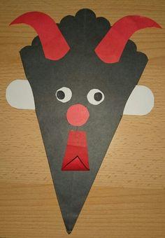 Čertík Origami, Kids Rugs, Education, Winter, Christmas, Ideas, Carnival, Classroom, Winter Time