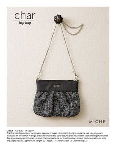 Char Hip Bag- order yours at www.sandrasgotmy.miche.com