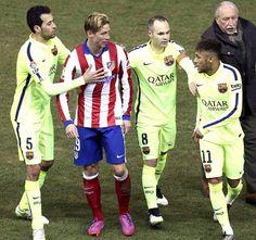 Após discussão, Fernando Torres manda recado para Neymar Neymar, Jr, Ronald Mcdonald, Fictional Characters, Fernando Torres, International Soccer, Hs Sports, Athlete, News