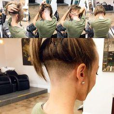 I never get used to it… Lol strait razor fade. #skin … Like, #nohair lol #undercut #hair #haircut