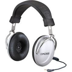 Full-Size Stereophones with Durable Steel Yokes  Koss TD85 07  PRICE DROP!