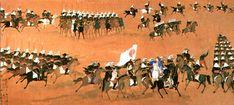 Samurai during the Boshin was era, late Edo period.