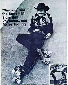 Look at this famously smooth man on skates Burt Reynolds.  If you want to look this cool don't forget Brisbane City Rollers Freshmeat Intake is just around the corner  Open to MEN and WOMEN over 18 years of age.  The intake will be open for 2 weeks - so if you cant make the first session its okay!  Cost $12  Gear Hire (pads and helmet only) $5 BYO Quad Roller Skates (email us in advance and we might be able to hook you up- very limited)  If you are not sure about playing roller derby but…