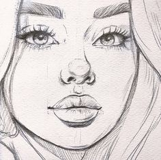 Girl Drawing Sketches, Cool Art Drawings, Pencil Art Drawings, Realistic Drawings, Arte Sketchbook, Cartoon Art Styles, Art Reference Poses, Aesthetic Art, Painting & Drawing