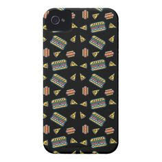 fast food black Case-Mate iPhone 4 case Custom Brandable Electronics Gifts for your buniness #electronics #logo #brand