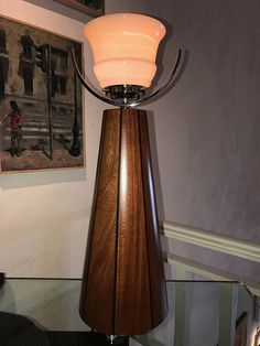 Unique Contemporary Art Deco table lamp./Design &