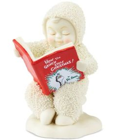 Department 56 A Grinchy Tale Snowbabies Collectible Figurine