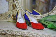 Flerfärgad Sko från Gabor Vintage Fashion, Heels, Clothing, Cloakroom Basin, Heel, Outfits, High Heel, Fashion Vintage, Outfit Posts