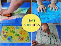 Sacs sensoriels Montessori sensory bags Montessori activities