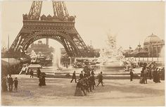 Unknown (French). Eiffel Tower, 1890s. The Metropolitan Museum of Art, New York. Museum Accession (X.700.2)