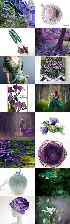 Secret Garden by Marlena Rakoczy on Etsy--Pinned+with+TreasuryPin.com
