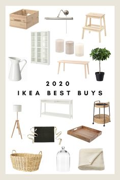 2020 Ikea Must Haves - House of Vedvik Ikea Must Haves, Ikea Home, Ikea Furniture, Apartment Furniture, Apartment Ideas, Apartment Styles, Apartment Essentials, Hallway Furniture, Furniture Ideas