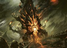 The Only Place Tonight You'll Find Oddworld, WoW and Magic Cards in the One Place Landscape Concept, City Landscape, Fantasy Landscape, Fantasy Concept Art, Dark Fantasy, Fantasy Art, Raymond Swanland, Video Game Artist, Mtg Art