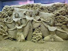 JPB: Sand Sculpture collection2 | Intricate Sand Sculpture Scenes by Susanne Ruseler (7 of 11)