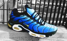 34e495773f32d4 Hyper Blue Nike Air Max Plus TN Nike Air Max Tn