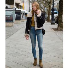 Leather, denim & boots by Katja Schweitzberger