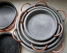 Eco-friendly and sustainable natural soapstone non-toxic cookware perfect for the kitchen from Rosetta Stone Kitchenware