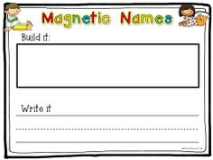 Fun name writing practice! This is a great pack for the first few weeks of school! $