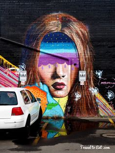 Street Art. Downtown Denver, Colorado