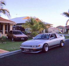 Tuner Cars, Jdm Cars, S13 Silvia, Jdm Wallpaper, Nissan Silvia, Street Racing Cars, Nissan Skyline, Skyline Gtr, Drifting Cars