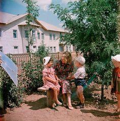 Красивые цветные фотографии СССР в 1950-х годах