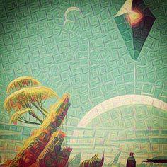 #neuralnetwork #deepdream #deepdreamfilterapp #art #google #abstract #deepdreamfiter #Inceptionism #nomansky  #space  #games